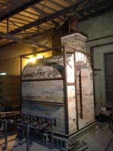 Finished Kiln Burners Installed