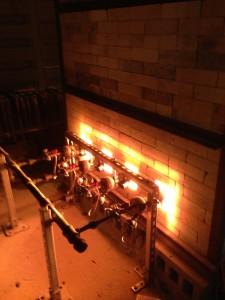 Burners Firing