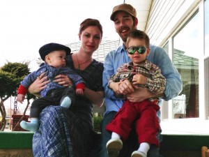 The Family Bethany, Me, Linus, and Gus